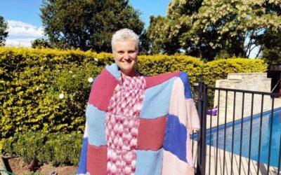 Crochet queen conquers Cancer